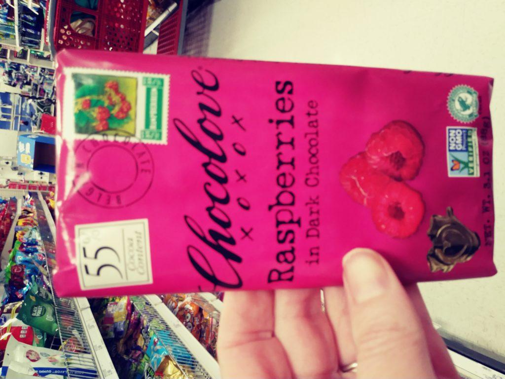 Chocolove Raspberry Bars