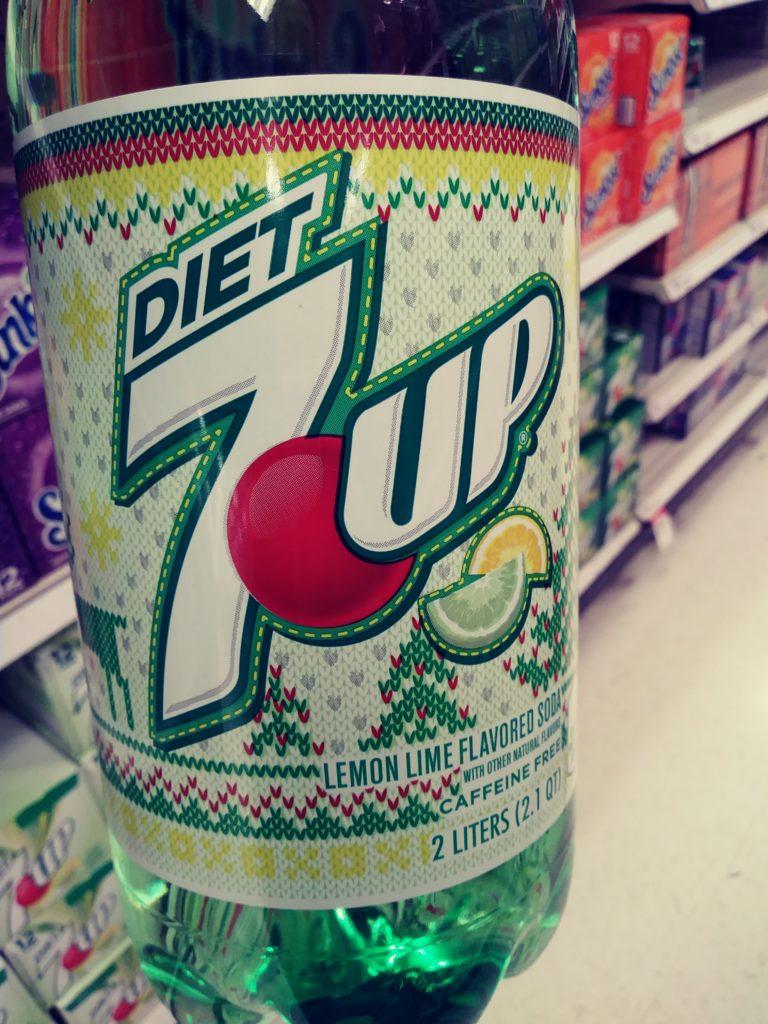 7Up Diet Winter 2 liter