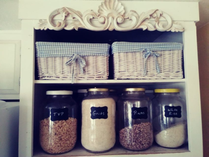 canisters above my oven