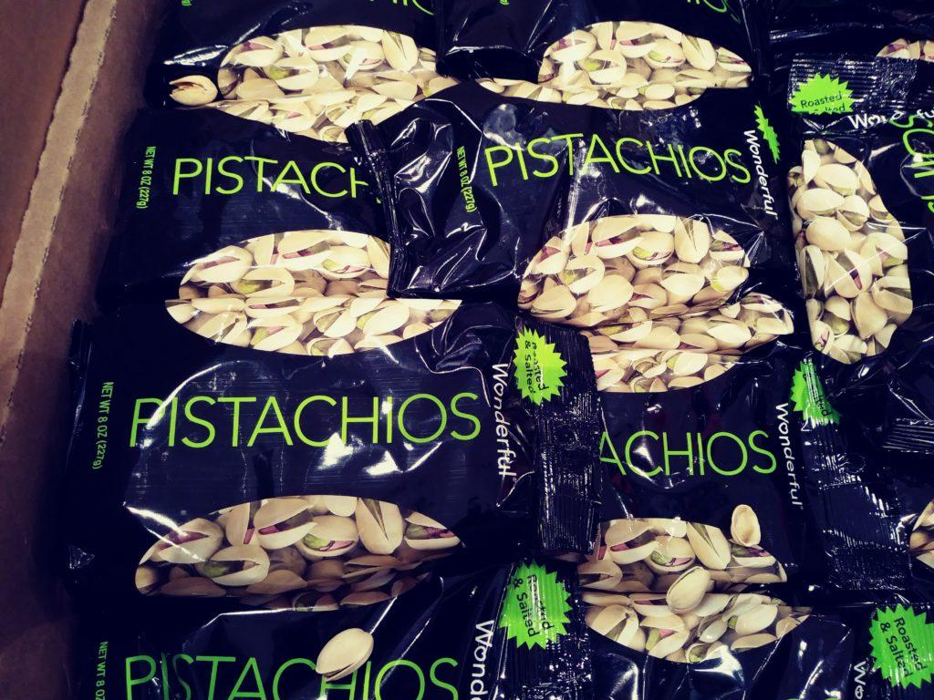 Wonderful pistachios bags