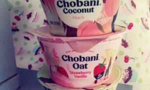 Chobani Yogurts, 3 assorted atacked