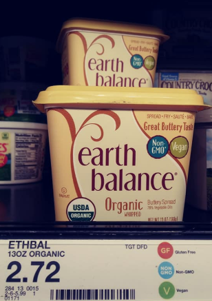 Earth balance butter organic whipped tub
