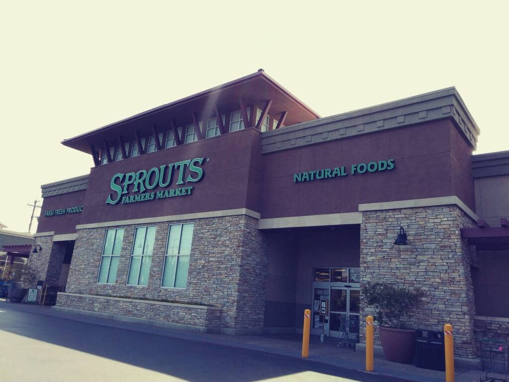 Sprouts store building