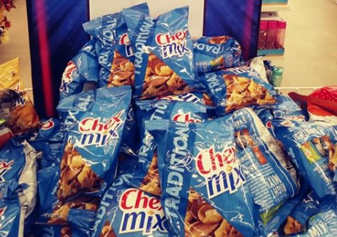 Bags of Traditional Chex Mix