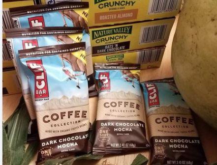 Clif Bars Coffee Mocha