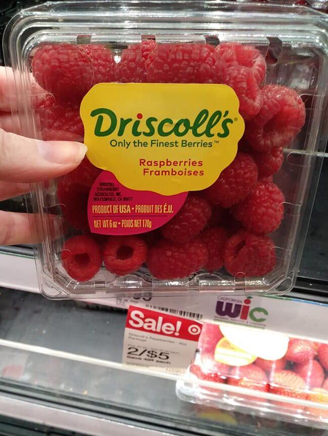 Raspberries 6 oz