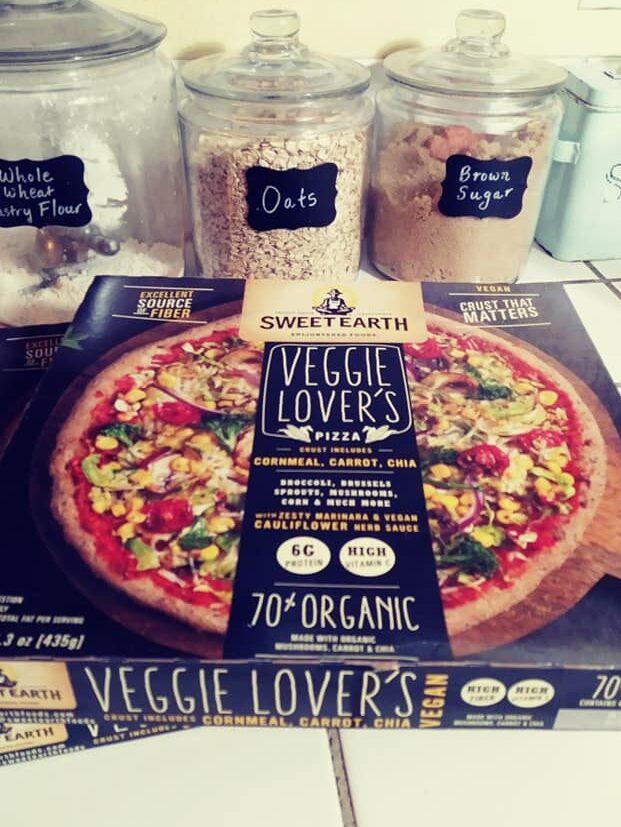 Sweet Earth Veggie Pizza