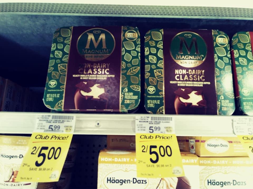 Magnum non-dairy bars assorted
