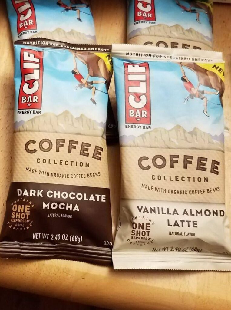 Clif Coffee Bars