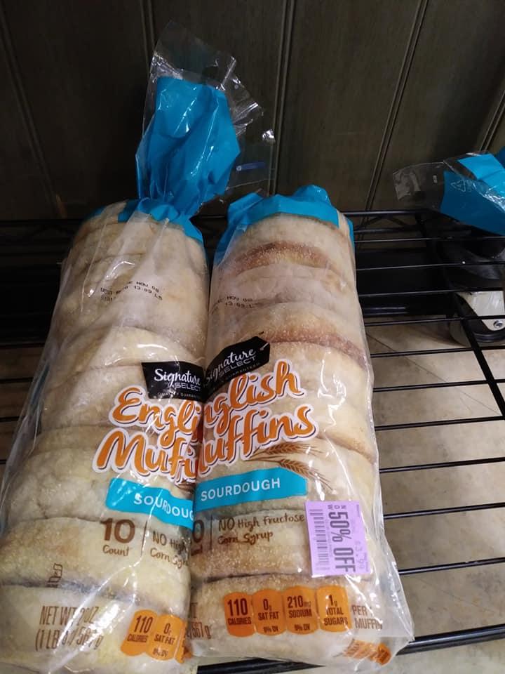 Safeway English Muffins