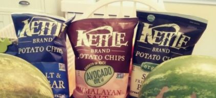 bags of kettle brand chips