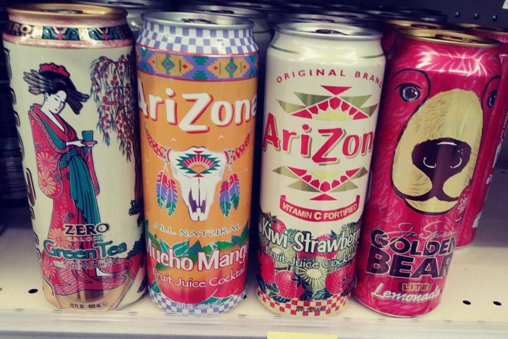 Arizona Drinks, asst.