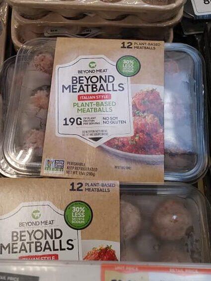 Beyond meatballs package