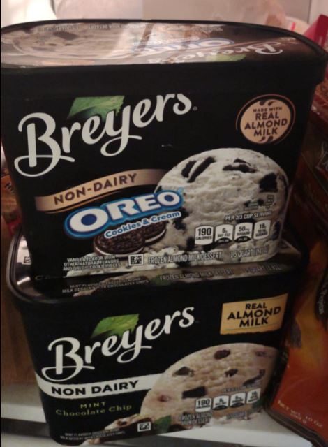 Breyer's non-dairy ice cream