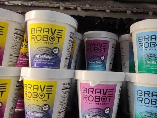 Brave Robot Ice Cream
