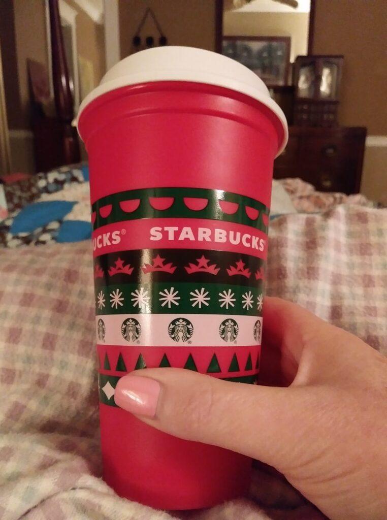 Starbucks reusable holiday cup 2020