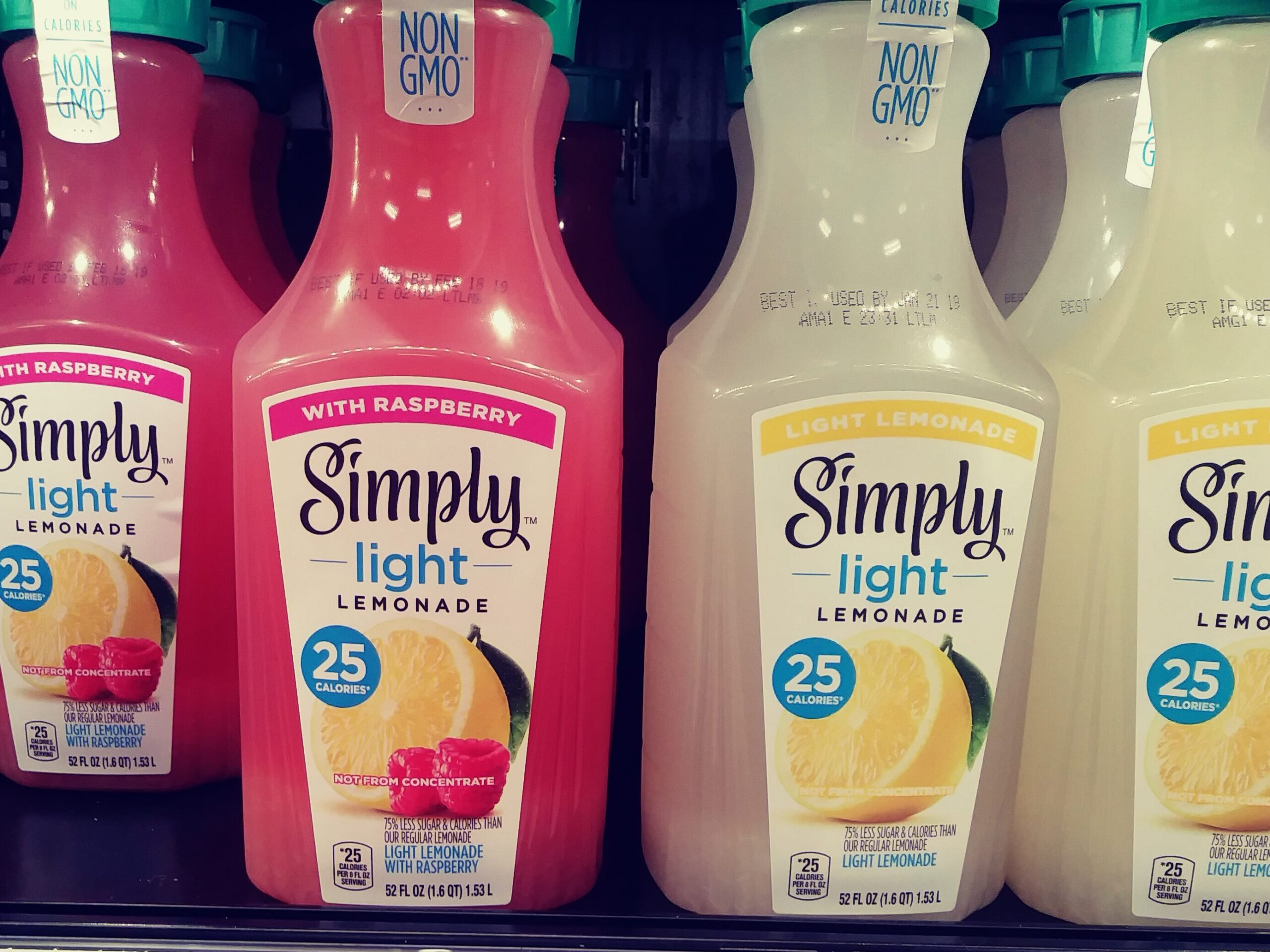 Simply Lemonade bottles