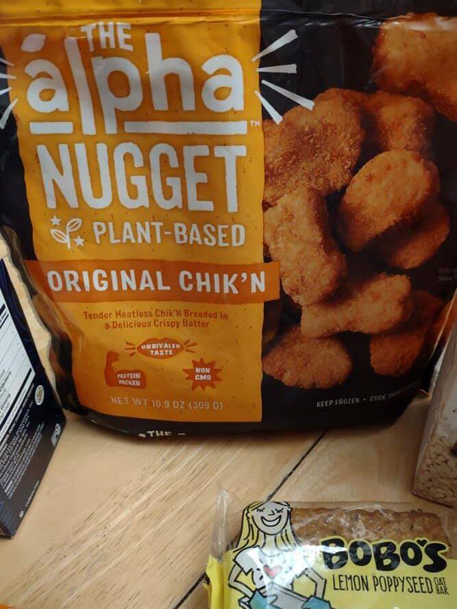 Alpha Chik'n Nugget Bag