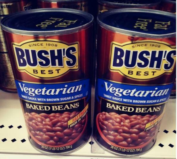Bush's Vegetarian Baked Beans Cans