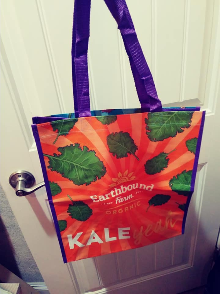 Earthbound Farm Tote Bag