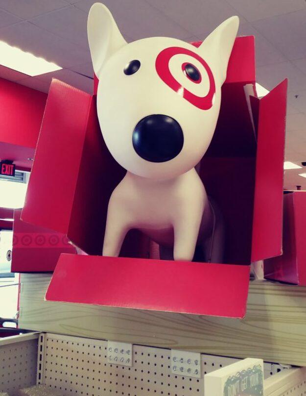 Target dog display
