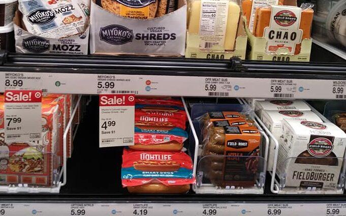 Vegan Section at Target