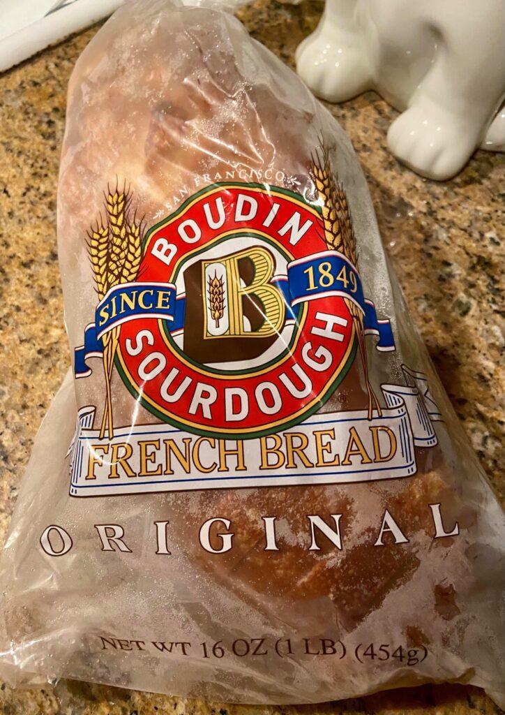 Boudin sourdough french bread loaf