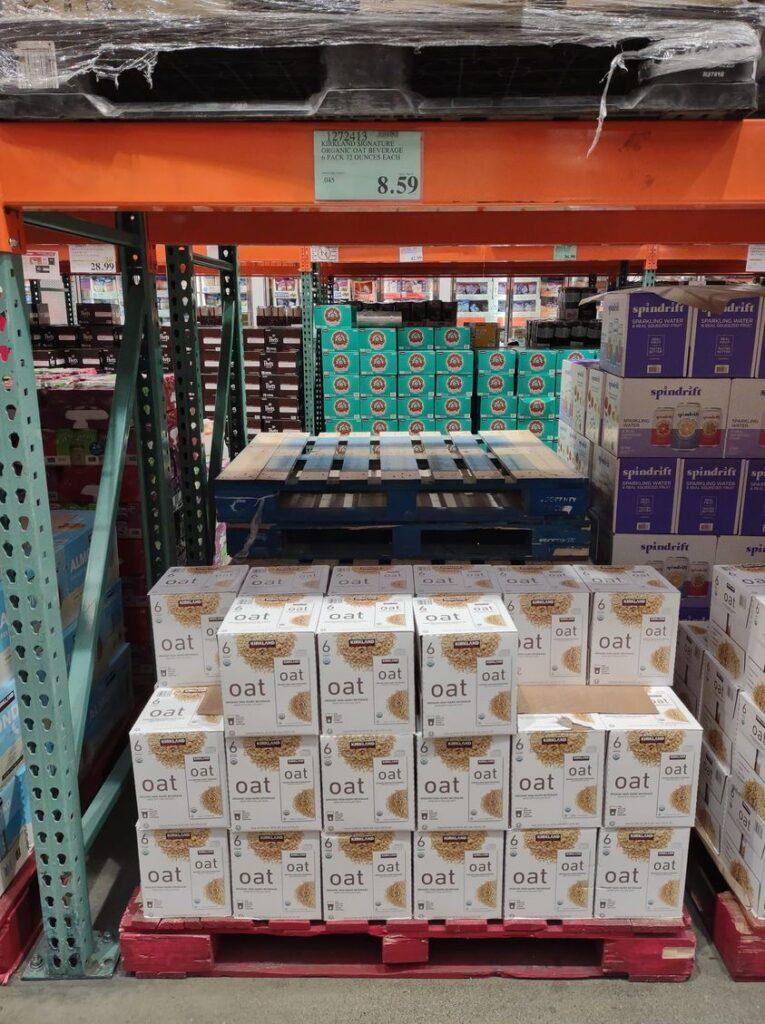 Costco oatmilk cases