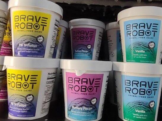 Brave Robot Ice Cream