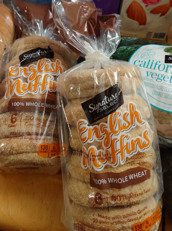 Safeway Whole Wheat English Muffins