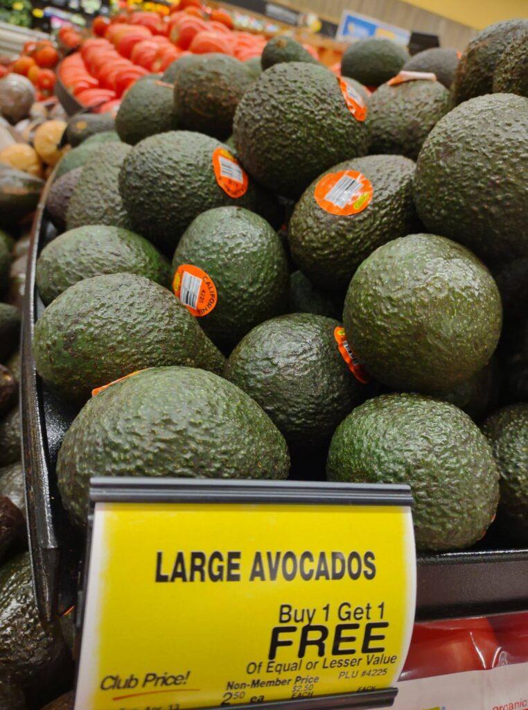 Avocados Buy 1 Get 1 FREE
