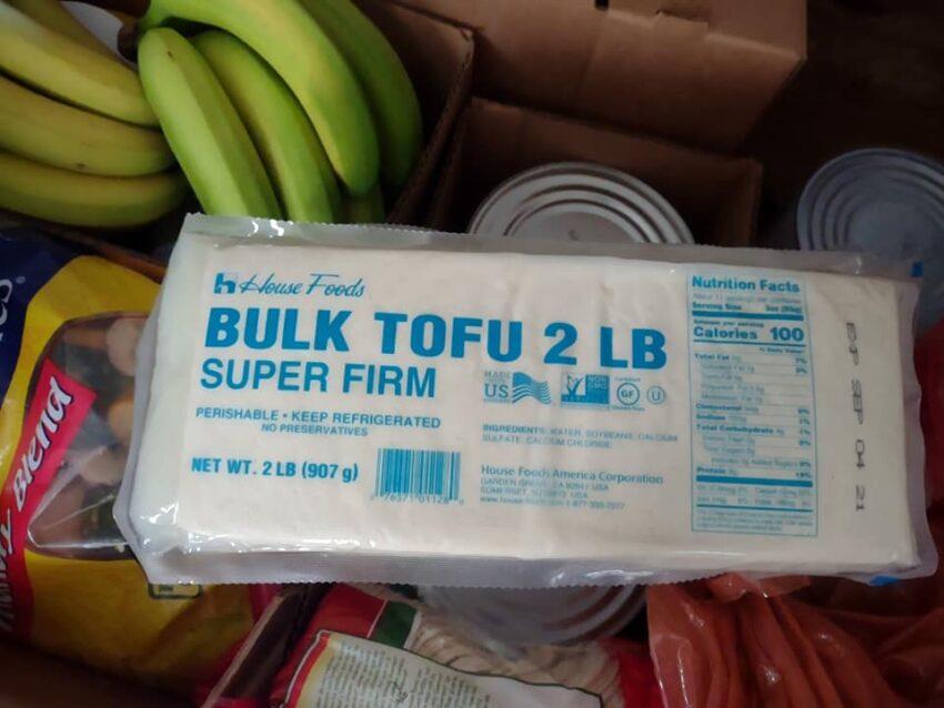 House brand tofu 2 lbs. bulk