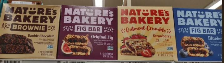 Nature's Bakery bars