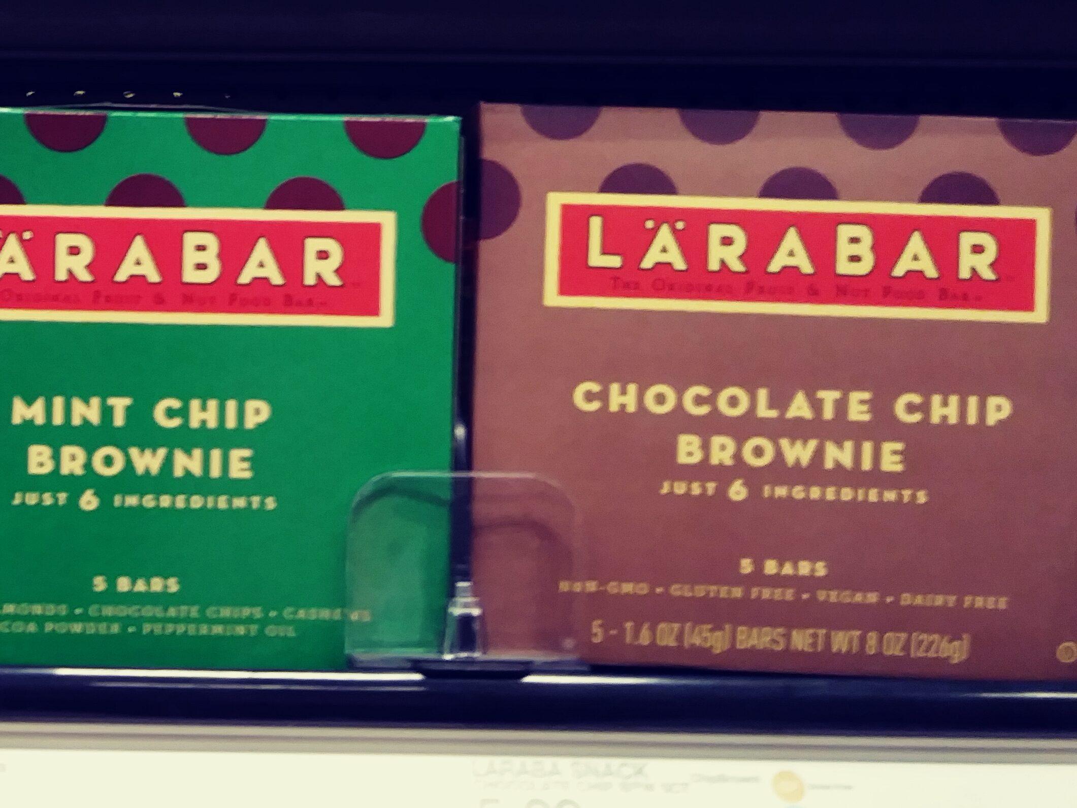 Larabars on store shelf