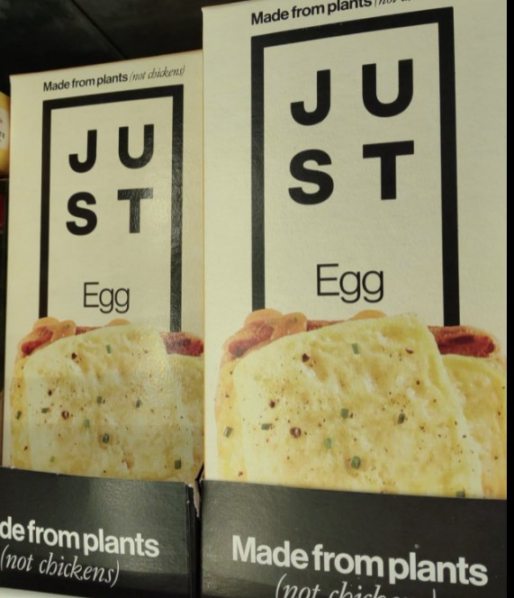 2 boxes of Just Egg folded