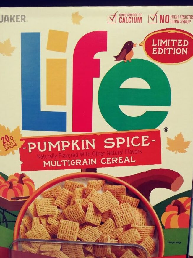 Box of Life Cereal Pumpkin Spice