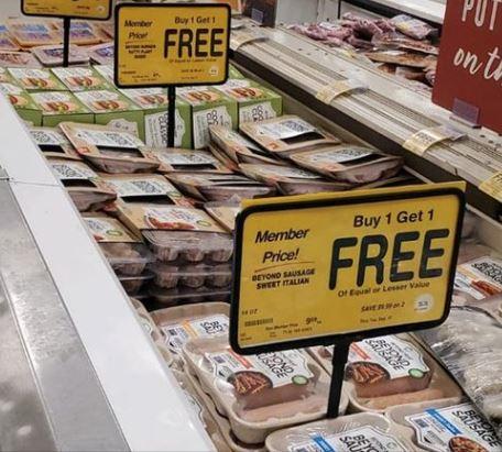 Beyond meats Buy 1, get 1 free